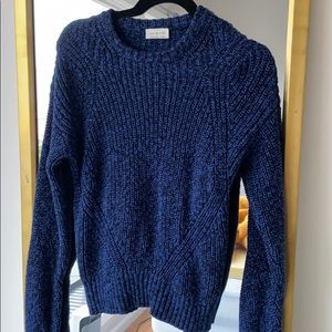 Lucky Brand Navy Sweater